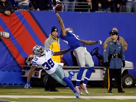 NFL: Dallas Cowboys at New York Giants