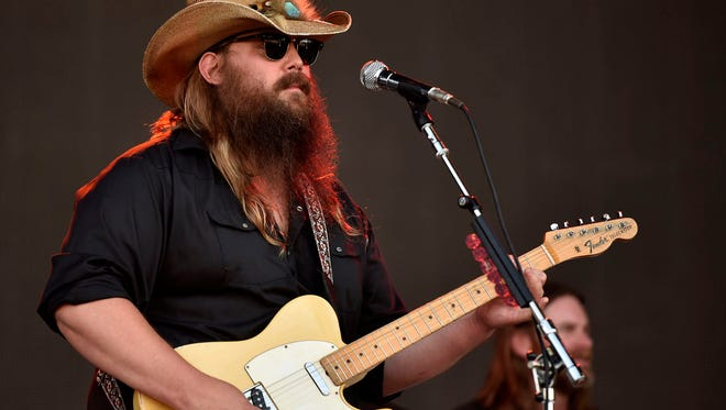 Chris Stapleton performs at the Bonnaroo Music and Arts Festival in Manchester, Tenn on Saturday, June 11, 2016.