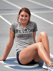 Nicole Wadden is one of two Wolf Pack athletes who