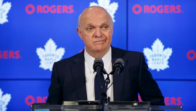 Lou Lamoriello served as the Maple Leafs' GM for three years.