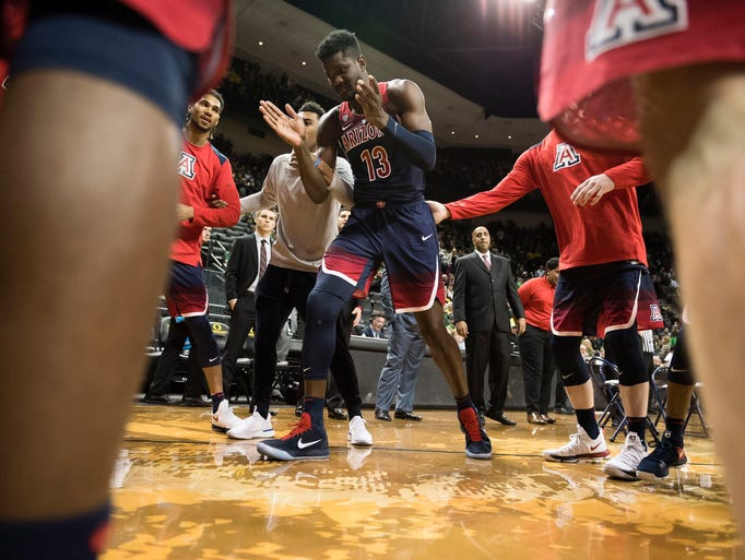 Arizona Wildcats freshman forward Deandre Ayton is