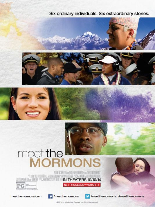 'Meet the Mormons' movie poster
