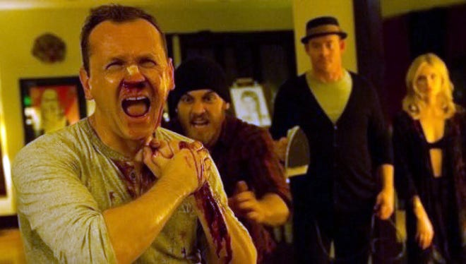 A scene from the film 'Cheap Thrills.'