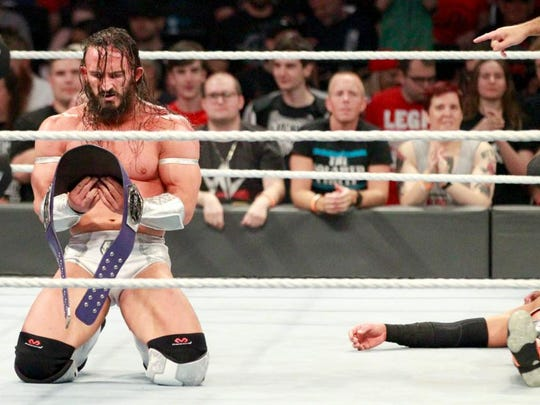 It didn't take long for Neville to regain the championship