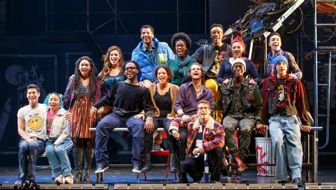"""The 20th anniversary tour of """"Rent"""" visits Milwaukee for a week of performances through Oct. 8 at the Marcus Center."""