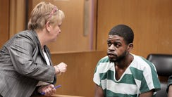 Shakar Barksdale, the accused gunman in the murder