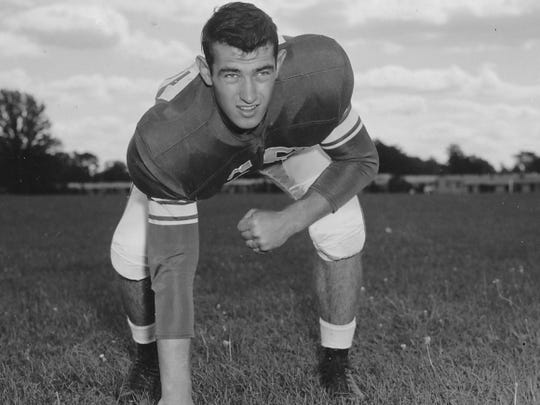 Michigan State legendary head coach Duffy Daugherty