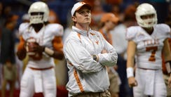Major Applewhite was offensive coordinator at Texas