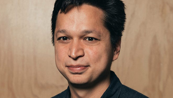 This photo provided by Pinterest shows company co-founder and CEO Ben Silbermann. Pinterest often gets lumped in with social media apps like Instagram, Snapchat or Facebook, but people don't go on it to meet new people or to keep in touch with old classmates. Rather, it's to get in touch with your own interests, tastes and hobbies.