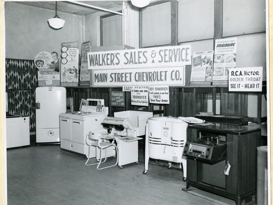 Large applianceS were on   display at an early annual