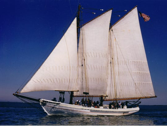 Sail on New Jersey's tall ship, the A.J. Meerwald,