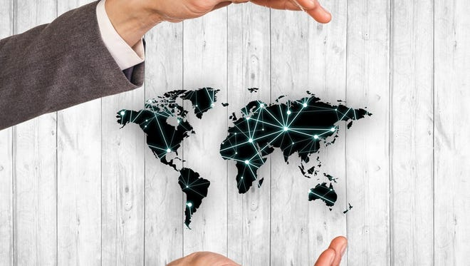 The world is becoming more connected through free trade agreements.