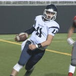 Liam Bell gets into the end zone for Gonzaga Prep in their win over Ferris.