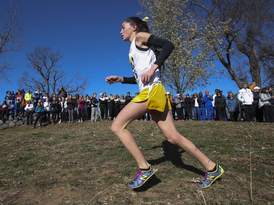 Padua, led by superstar senior Lydia Olivere, is ranked No. 1 in Division I girls cross country.