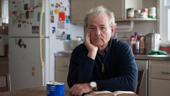 """In this image released by HBO, Bill Murray appears in a scene from """"Olive Kitteridge."""" Murray was nominated for a Golden Globe for best supporting actor in a TV movie or mini-series for his role on Thursday, Dec. 11, 2014."""
