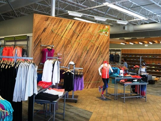 Gazelle Sports, a specialty running store, has three