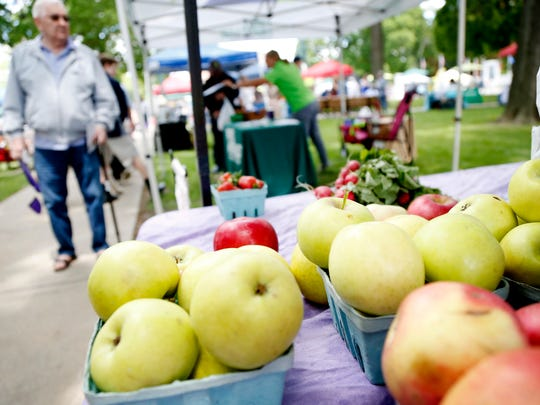 Wisner Market kicked off its 2017 season Thursday in
