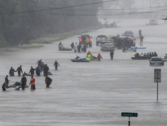 USP NEWS: HURRICANE HARVEY A WEA USA TX