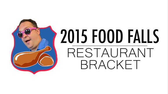 2015 Food Falls Restaurant Bracket.