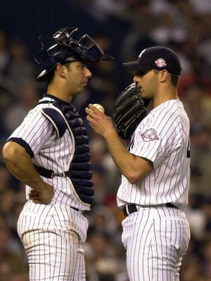 Jorge Posada's No. 20 and Andy Pettitte's No. 46 will join the Yankees' beefy roster of retired numbers this season.