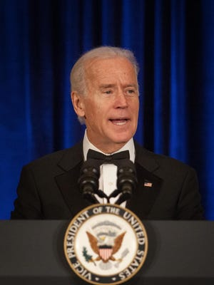 Vice President Biden and his wife, Jill, saw a slight increase in their income in 2013, according to tax returns released by the White House Friday.
