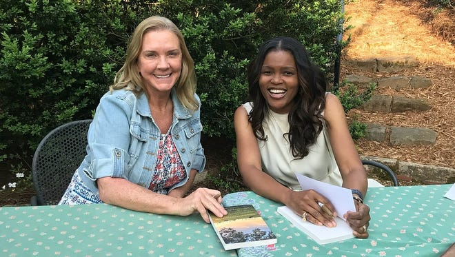 Jama Connor Hedgecoth (left) and Milwaukee native Chrishaunda Lee Perez jointly wrote a new book about Noah's Ark, a sprawling animal rescue sanctuary in rural Georgia, founded by Hedgecoth. It has survived despite the odds.
