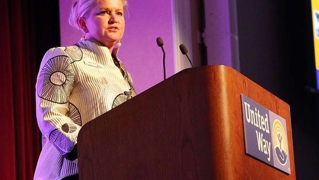 Mary Sellers, who grew up in Northville Township, is the incoming U.S. president of United Way Worldwide.
