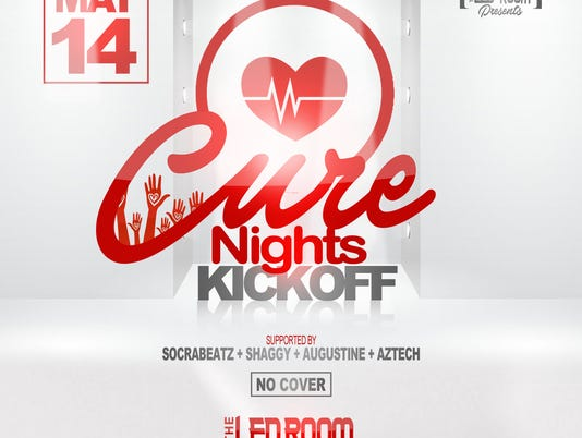 Cure Nights flyer