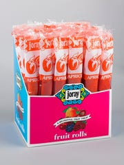 Joray's fruit rolls are the perfect on-the-go snack.