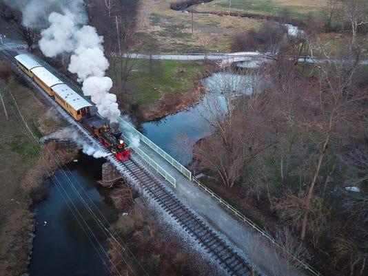 Steam into History Tannenbaum train