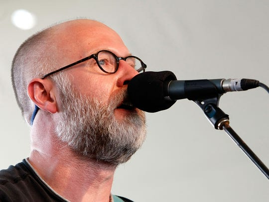Bob Mould performs in 2009 in Indio, California.