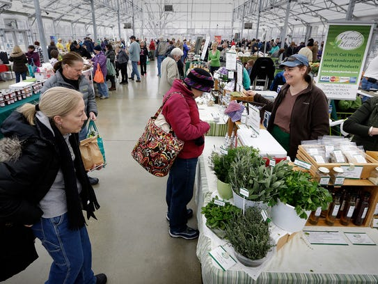 The Milwaukee County Winter Farmers Market has its last day in the Mitchell Park Domes' Greenhouse Annex Saturday.
