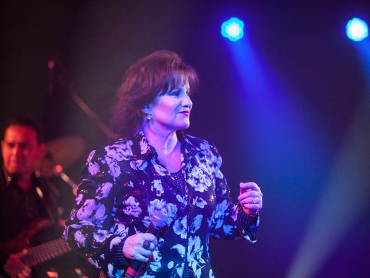 Latin-music duo Pimpinela, which consists of siblings Lucia and Joaquin Galan. performed Friday, August 15 at Celebrity Theatre in Phoenix.