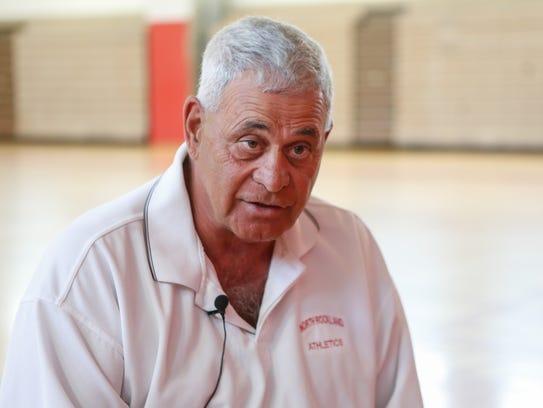 North Rockland athletic director Joe Casarella photographed