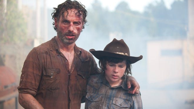 We hope you've recovered from AMC's 'Breaking Bad' marathon because here comes the 'Walking Dead' fest on New Year's.