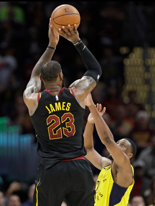 LeBron James, Thaddeus Young