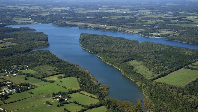 Phase 1 of the new mountain bike/hiking trail will be built on land City Utilities owns around Fellows Lake.