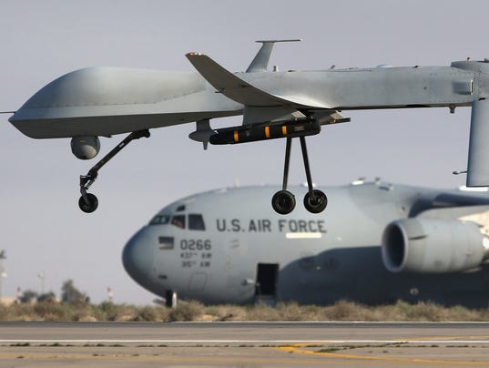 Pentagon Report Justifies Deployment Of Military Spy Drones Over The US