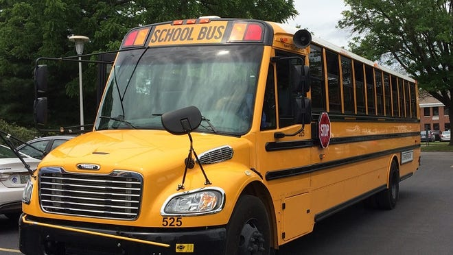 The Tennessean Editorial Board rode a school bus Monday, May 18, 2015, with community leaders to learn about the Metro Nashville Public Schools English Learners program.
