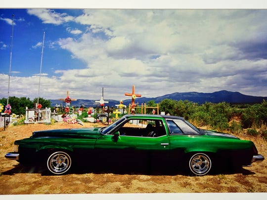 A photograph by Jack Parsons that will be on display in the Lowriders, Hoppers and Hot Rods photo exhibit at the Doña Ana Arts Council Arts & Cultural Center.