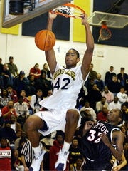 Al Horford starred for Grand Ledge High School in the early 2000s. Horford has unexpected led a young and shorthanded Boston Celtics team to the Eastern Conference finals.