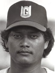 Ed MesaSport: BaseballPhoto archive date April 14,