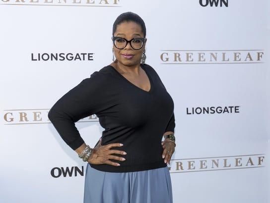 Oprah Winfrey plays bar owner Mavis McCready, sister