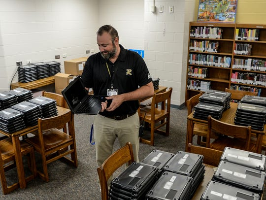 Justin Peterson, Anderson School District 4 instructional