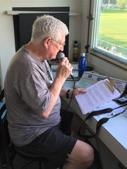 Novi girls and boys soccer public address announcer is retiring his mike after 20 seasons.