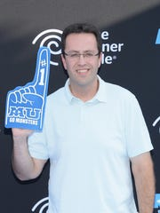 Jared Fogle attends the premiere of Disney Pixar's