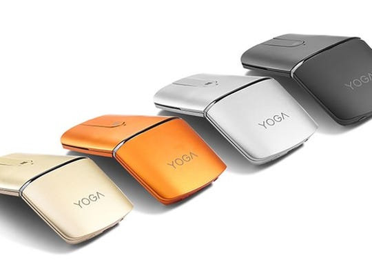 The Lenovo Yoga Mouse and Remote Control.