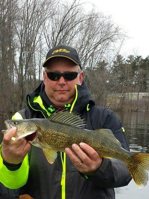 An eater river walleye