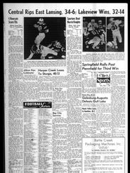 Battle Creek Sports History: Week of Sept. 29, 1966