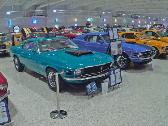 The Horsin' around in the Vineyard Mustang Car Show is Sunday at Summer Crush Vineyard & Winery in Fort Pierce.